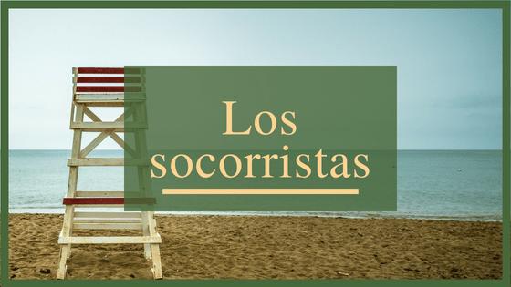 Los socorristas, imprescindibles en las playas