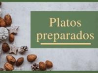 Platos preparados Navidad