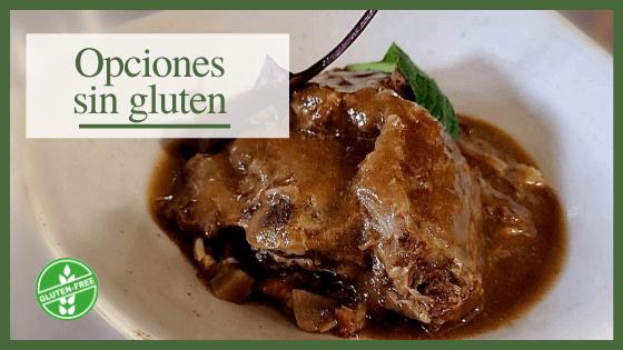 Restaurantes opciones sin gluten Cantabria